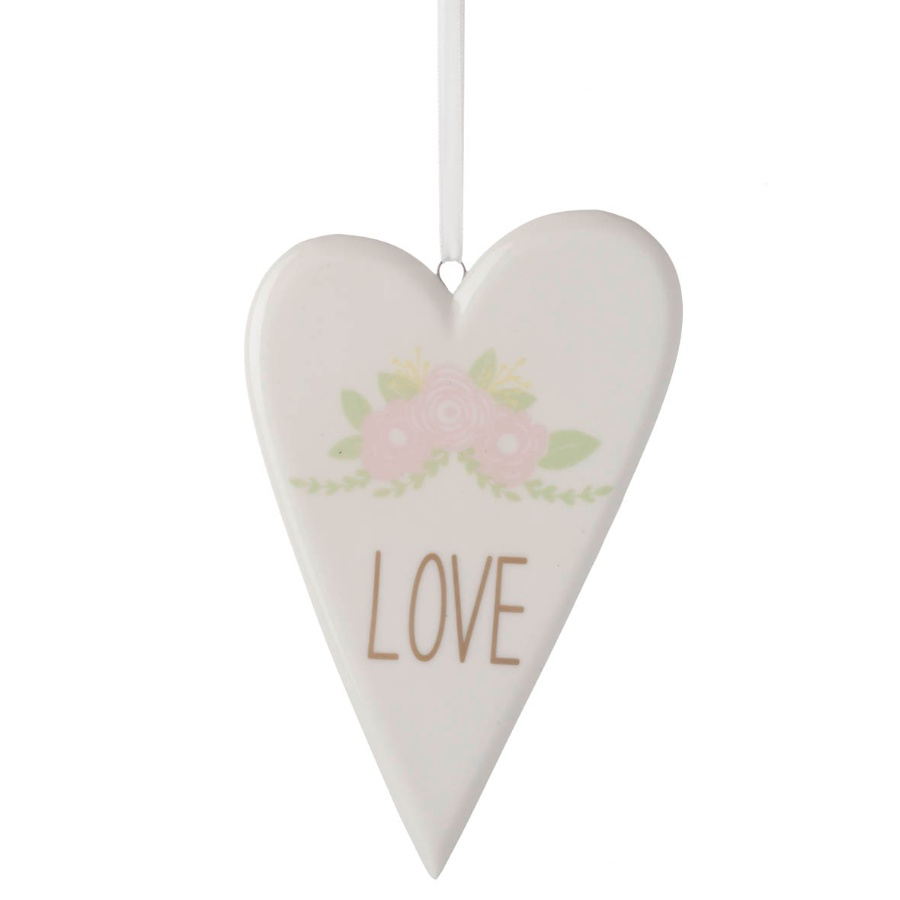 Love Heart Hanging Decoration