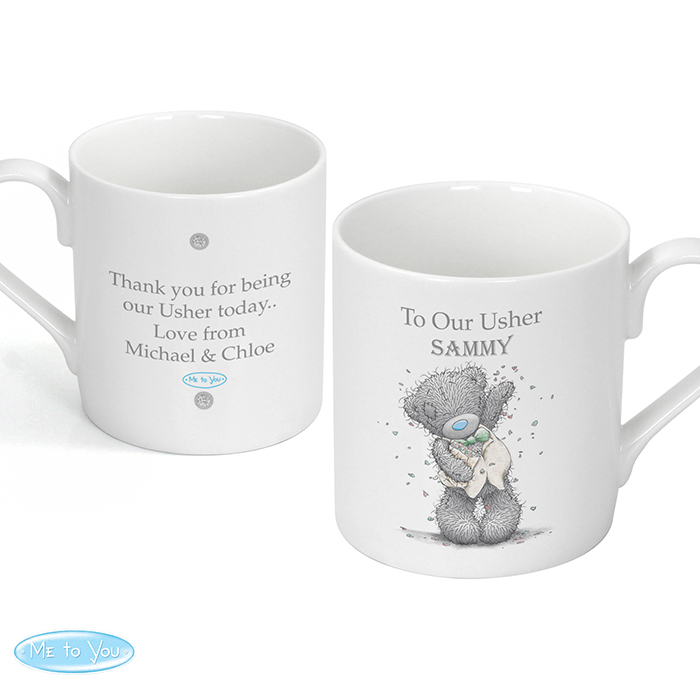 Me To You Male Wedding Mug