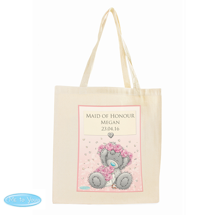 Me To You Girls Wedding Cotton Bag