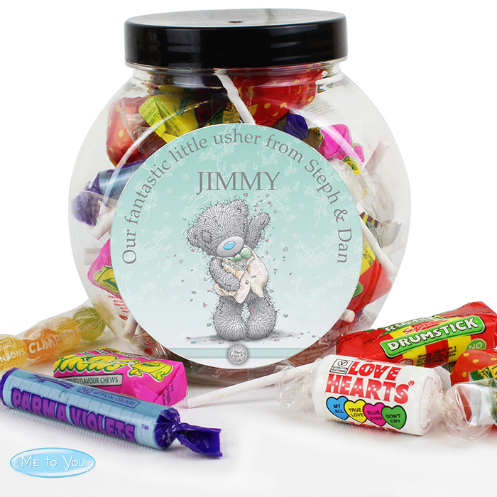 Me To You Girls Wedding Sweet Jar