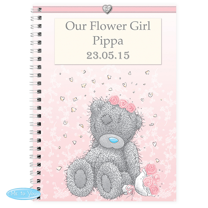 Me To You Girls Wedding Notebook