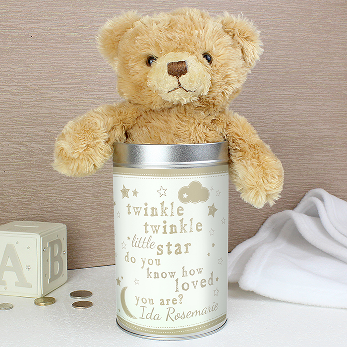 Twinkle Twinkle Teddy in a Tin