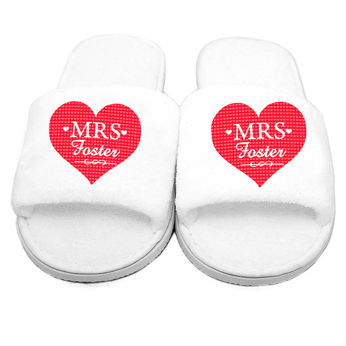 Mrs Velour Slippers