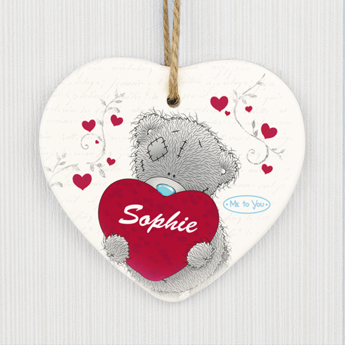 Me To You Big Heart Ceramic Decoration
