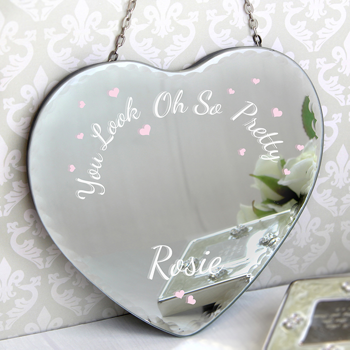 Oh So Pretty... Heart Mirror