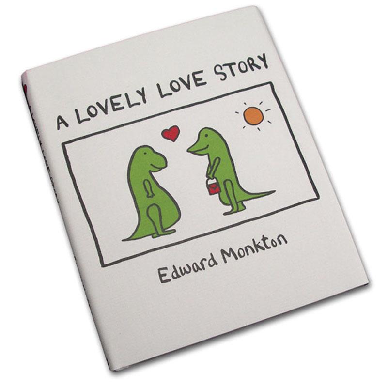 A Lovely Love Story, Hardback By Edward Monkton