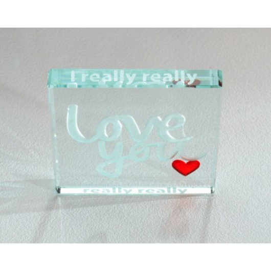 I really, really, really... Love You Miniature Token by Spaceform