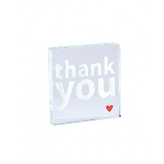 """Thank You"" Hearts Mini Token"