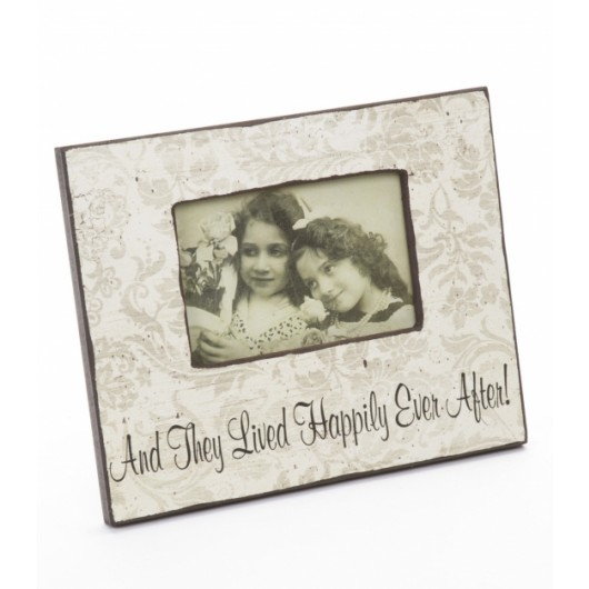 Happily Ever After Wooden Frame