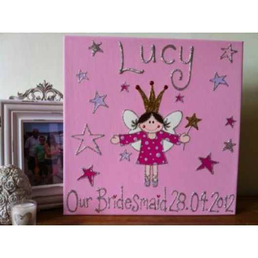 Personalised Fairy Canvas