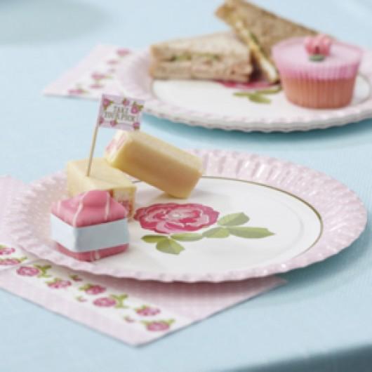 Vintage Rose - Plates