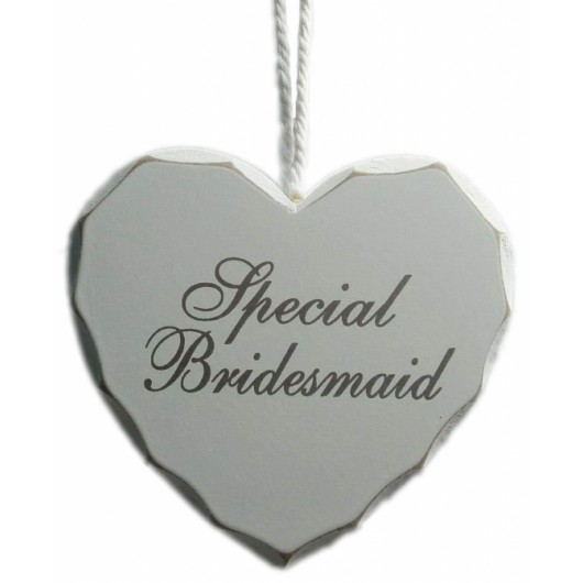 Special Bridesmaid Heart Sign