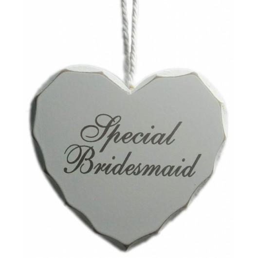 Special Bridesmaid Heart Sign