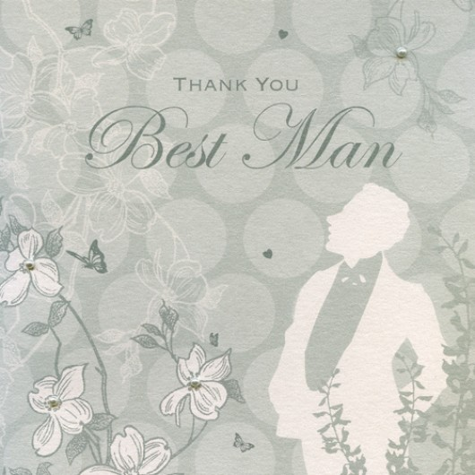 Enchanted Days Best Man Card