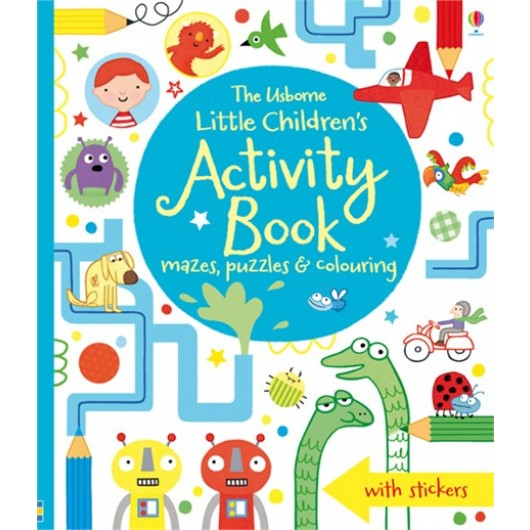 Little Childrens Activity Book