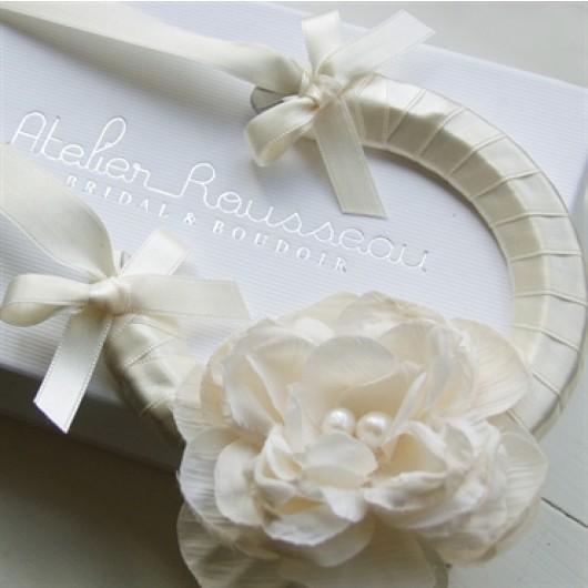 Antique Rose Shabby Chic Wedding Horseshoe