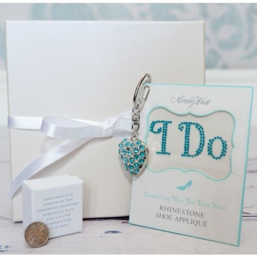 Bride's Something Blue Gift Hamper