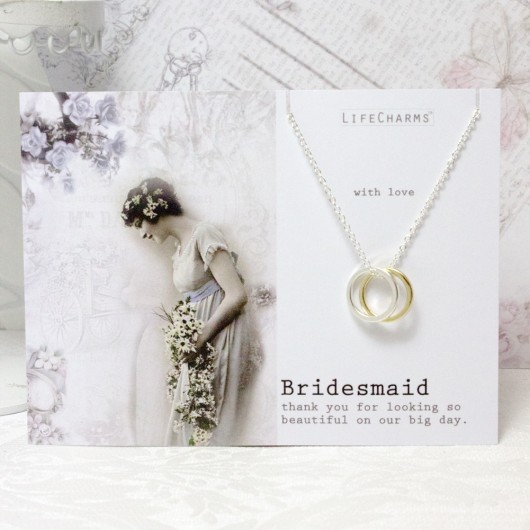 Bridesmaid Links Necklace