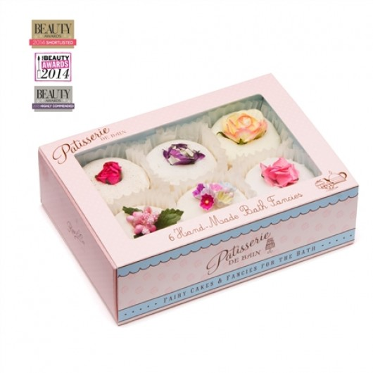 Patisserie de Bain Floral Fancies Bath Melt Collection