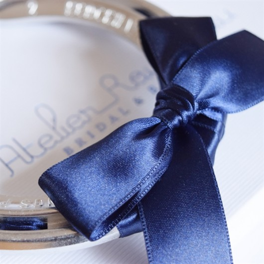 Navy Blue Lucky Horseshoe