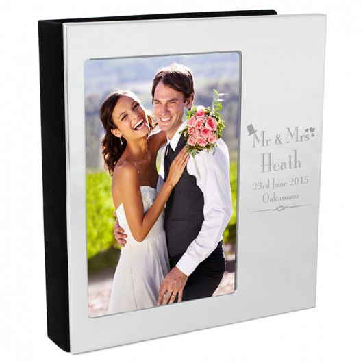 Personalised Decorative Wedding Photo Album 6x4