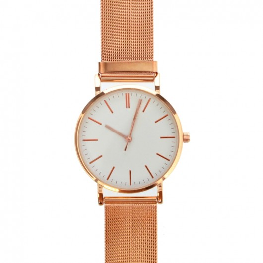Rose Gold Tone Personalised Watch with Gift Box