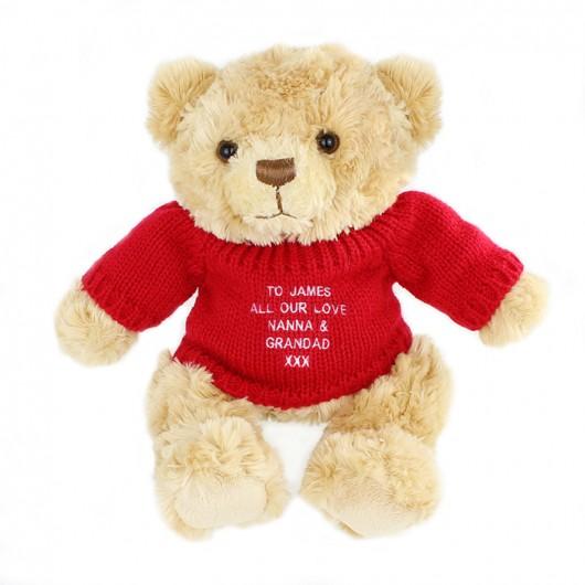 Red Jumper Teddy Bear