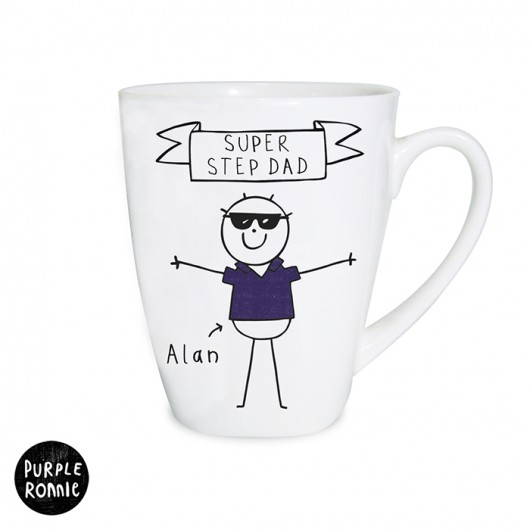 Purple Ronnie Cool Dude Latte Mug