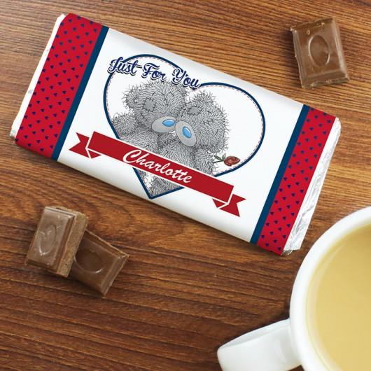 Me To You Couple Chocolate Bar