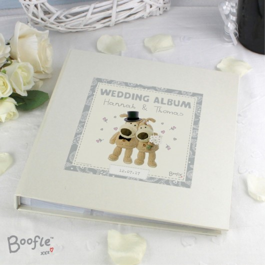 Boofle Personalised Wedding Album