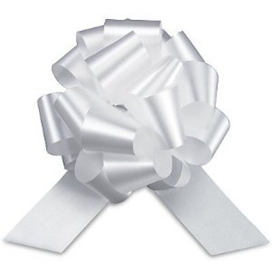 White Pull Decoration Bows