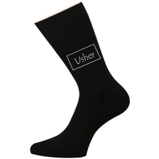 Wedding Socks - Usher
