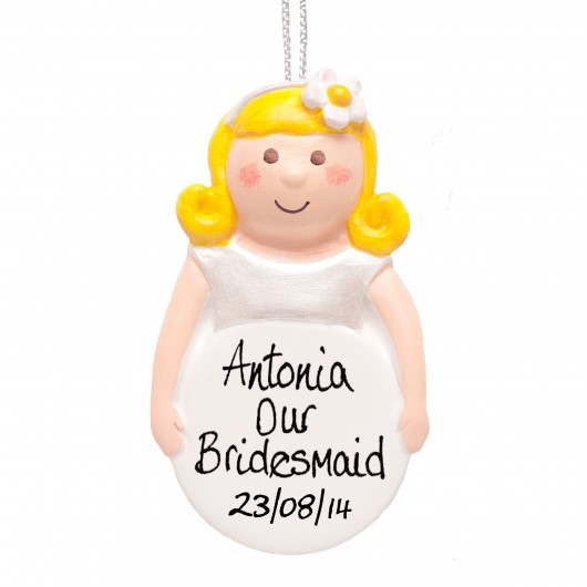 Personalised Bridesmaids Keepsake