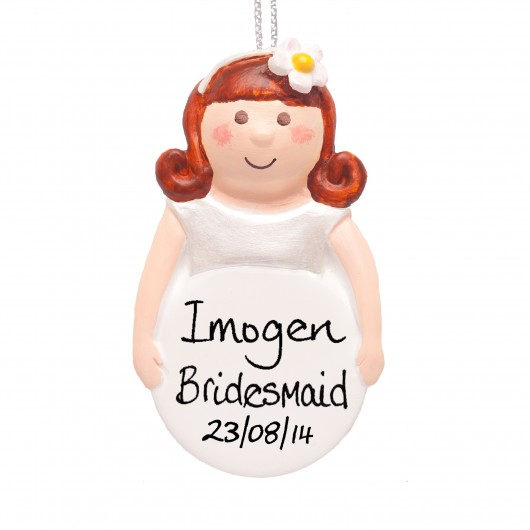 Bridesmaids Personalised  Keepsake