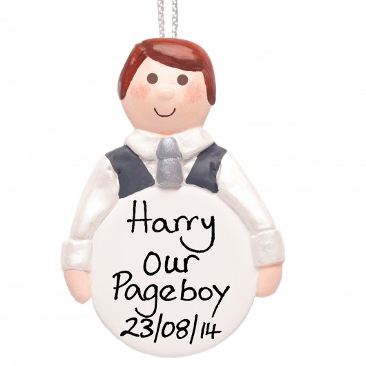 Personalised Pageboy Thank You Gift