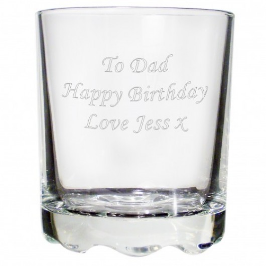 Personalised Stern Whisky Glass