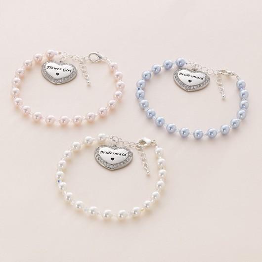 Bridesmaid/Flower Girl Bracelets