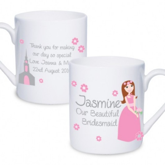 Fabulous Bridesmaid Mug - Personalised