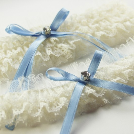 Cinderella Lace & Tulle Wedding Garter