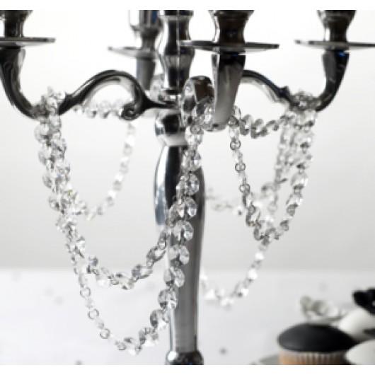 Crystal Garland - Clear - 1 Meter