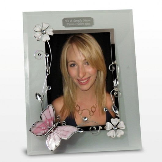 "Butterfly 6x4"" Photoframe"