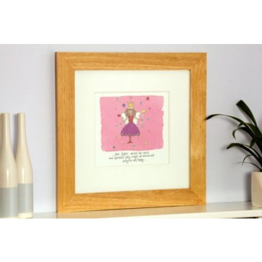 Personalised Framed Fairy Watercolour Print