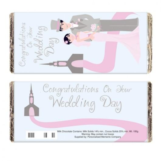 Fabulous Wedding Chocolate Bar