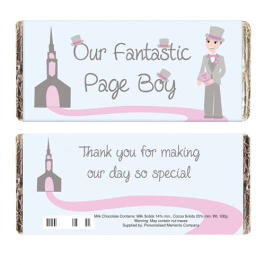 Fabulous Page Boy Chocolate Bar