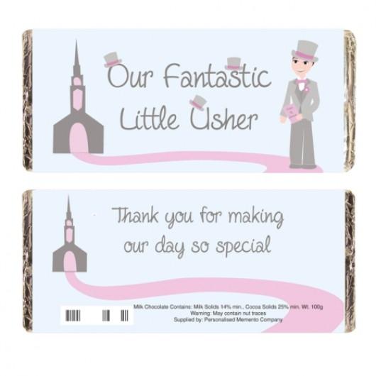 Fabulous Little Usher Chocolate Bar