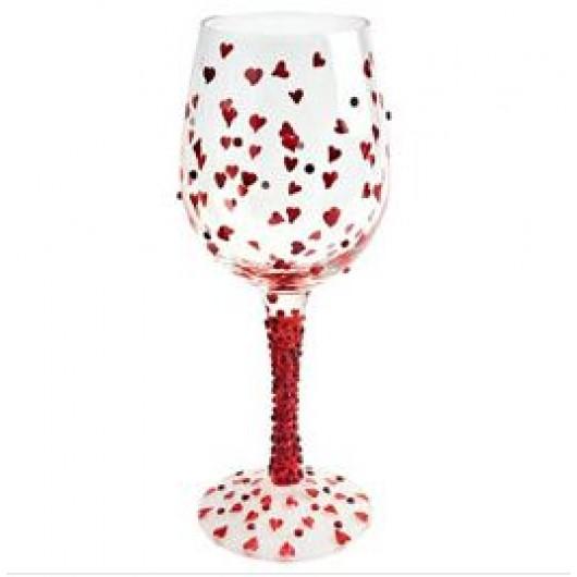 Lolita Red Hot Wine Glass