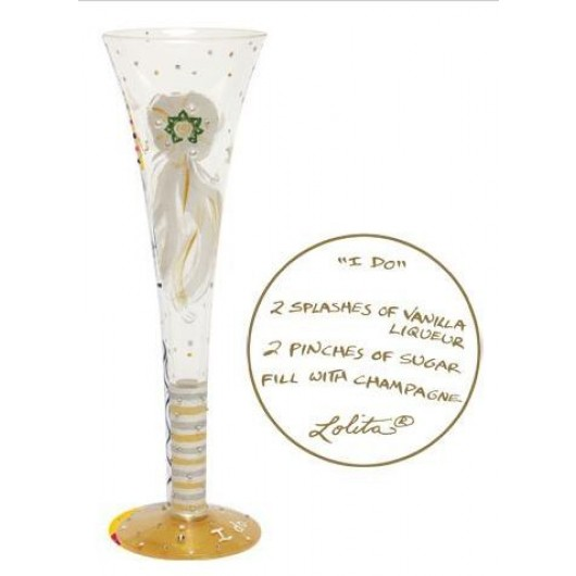 Lolita I Do Champagne Glass