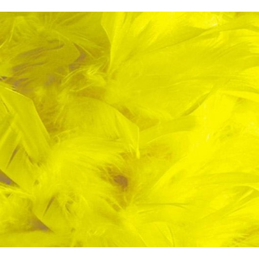 Yellow Feather Boa