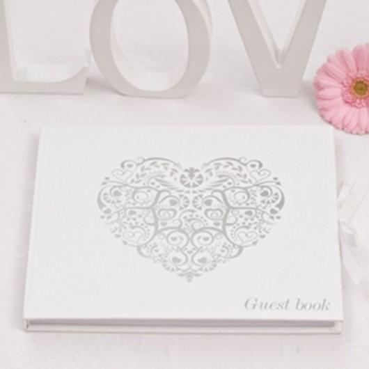 Vintage Romance - Guest Book