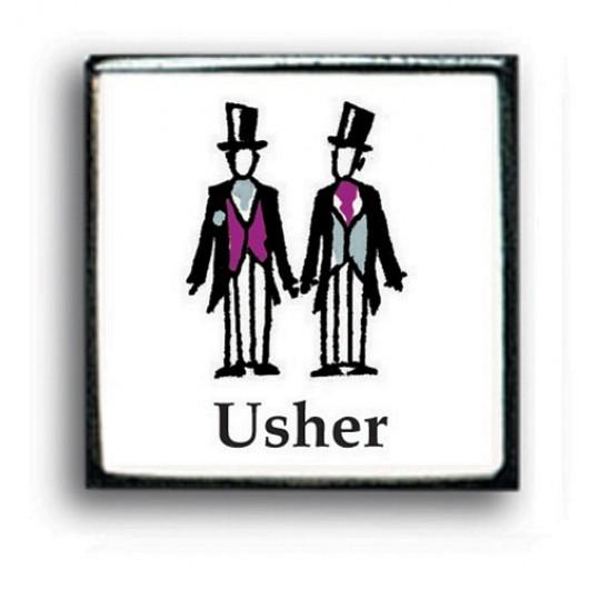 Contemporary Wedding Cufflinks - Usher